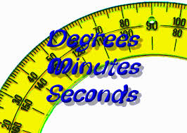 Angle Measurement Degrees Minutes Seconds Zona Land