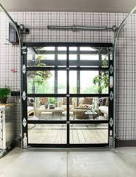 roll up glass doors commercial roll up glass garage doors