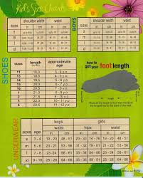 Age And Shoe Size Chart Pin On Promo