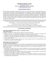 Procurement Resume Sample Free