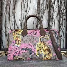 gucci 409527. gucci gg canvas boston bags tiger prints 409527