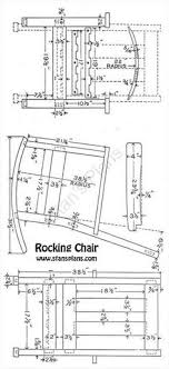 wooden rocking chair plans. rocking chair plans | - all free at stans wooden