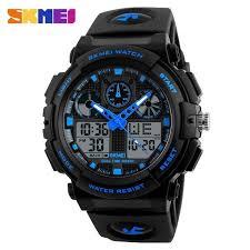 <b>SKMEI</b> Luxury Brand <b>Men</b> Sports Watches <b>Men's Quartz</b> LED <b>Digital</b> ...