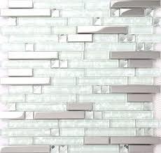 clear glass backsplash art mosaic diamond silver mirror crystal glass mosaic tile clear glass tiles clear