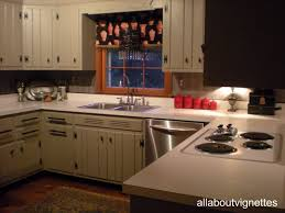 Painted Knotty Pine All About Vignettes A Favorite Feature A Back Splash
