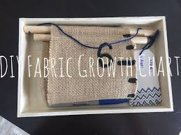 Fabric Growth Chart Tutorial Diy Fabric Growth Chart Growth Chart Fabric Growth Chart