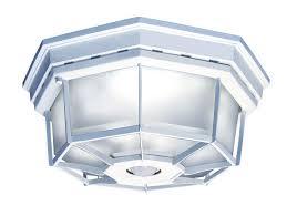 34 ceiling mount motion sensor light hampton bay 360 degree square 4 light white motion sensing cliffdrive org