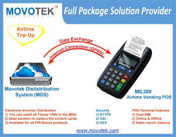 Airtime Vending Machines For Sale Simple Movotek EVoucher Management System And Airtime Vending POS Machines