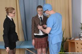 A kinky medical exam from P