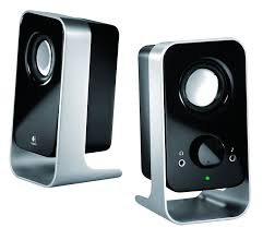 speakers for computer. logitech ls11 2.0 stereo speaker system - black/silver: amazon.co.uk: computers \u0026 accessories speakers for computer