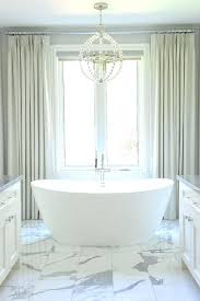 master bathroom chandelier view full size chic bathroom boasts a sphere chandelier master bath chandelier
