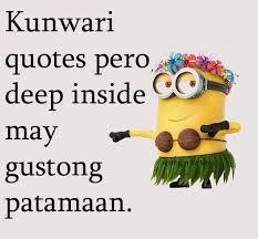 Minion Quotes Tagalog