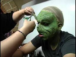 tribute to jim carrey as the grinch makeup application you