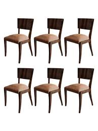 art deco rosewood dining chairs set of 6 art deco rosewood dining