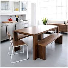 modern dining table with bench. Plank Bench And Dining Table Collection By Gus Modern With I