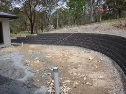 keystone concrete blocks retaining wall