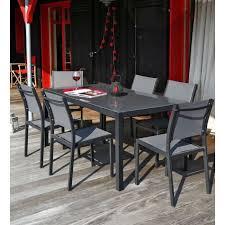 Ensemble table de jardin - Maison mobilier et design