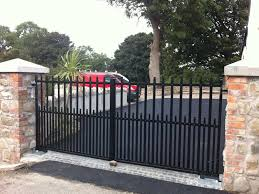 image of cute electric driveway gates
