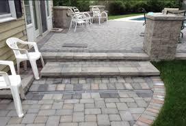 paver step replacing concrete steps