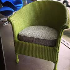 vintage wicker patio furniture. Green Wicker Furniture Vintage Loom Chair All Done Up A New Coat Of Paint Hunter . Patio T