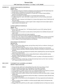 92A Job Description Resume Field Service Technician Resume Samples Velvet Jobs 75