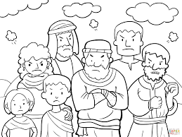 Moses Coloring Pages Moses Coloring Pages Free Coloring Pages