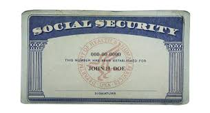 social security numbers and why your