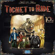 roger s reviews ticket to ride th anniversary edition ticket   roger s reviews ticket to ride 10th anniversary edition ticket to ride 10th anniversary boardgamegeek