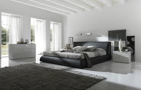 Choosing Some Luxury Bedroom Furniture Inspirations And Picture Interior  Inspiring Black Bed White Glamorous Nice Along With