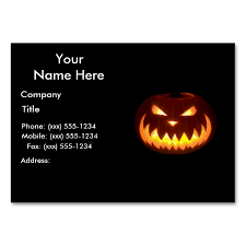 Halloween Business Cards Pin By John Ocasio On Business Card Designs Business Card