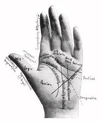 A Palmistry Chart Of The Hand By Cheiro