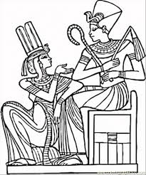 Small Picture Egyptian Pharaohs Coloring Page Free Egypt Coloring Pages