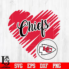 Browse chiefs logo pictures, photos, images, gifs, and videos on photobucket Kansas City Chiefs Logo Kansas City Chiefs Heart Nfl Svg Dxf Eps Png F Lasoniansvg