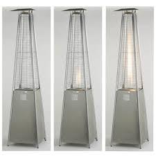 stainless steel patio heaters. Lifestyle Tahiti Stainless Steel Flame Gas Patio Heater 13kw Heaters