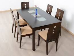 fortes solid 6 seater dining table set and used in second hand dining table set in bangalore