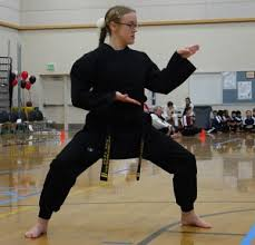 black belt candidate essays archives nwsma sensei ydn caitlin doing her form at a tour nt