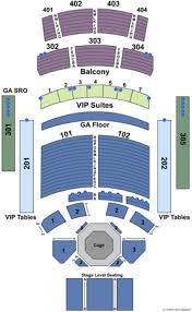 The Joint Hard Rock Las Vegas Seating Chart The Joint At Hard Rock Hotel Casino Tickets In Las Vegas