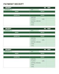 Word Receipts 13 Free Business Receipt Templates Smartsheet