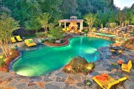 Pool Design Ideas Swimming Pools Designs Semi Pool Backyard Design