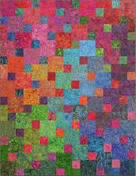 77 best hand dyed fabric quilt images on Pinterest | Modern ... & A great pattern for batiks. This may be my next quilt! Xanadu pattern by  Blue Underground studios Adamdwight.com