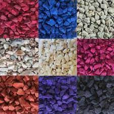 decorative colour garden stone pebbles