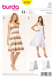 Burda Patterns Enchanting 48 Burda Pattern Misses Burda Vintage Style Dresses