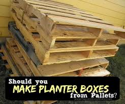 pallet is safe to use in the garden