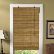 UHF Sand Natural Bamboo Roman Shade 70 X 72  70  79 Inches Best Deals On Window Blinds