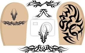 Fototapeta Tribal Tattoo Rameno Rukávy