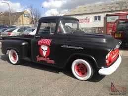 chevrolet 3100,sidestep pickup 1957, rat rod, hot rod, no reserve