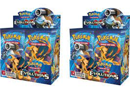 2016 Pokemon XY Evolutions Booster Box 2X Lot -