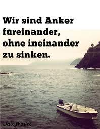 Anker Liebe Anchor Love Freundschaft Stärke Meer Klippe Boot