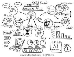 business doodles stock images, royalty free images & vectors Business Plan For Home Based Business business doodles sketch set infographics elements isolated, vector shapes it include lots of business plan for a home based business