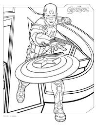 Small Picture Avengers coloring pages captain america ColoringStar